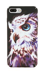 Para Apple iphone 7 7plus caso de padrão caso de capa traseira coruja pc rígido 6s mais 6 mais 6s 6