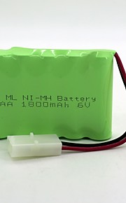 Ni-MH batarya aa 1800mAh 6v