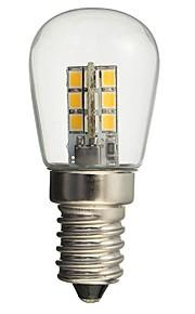 1W E14 LED-globepærer 24 SMD 2835 50-99 lm Varm hvit Hvit Dekorativ AC110 AC220 V 1 stk.