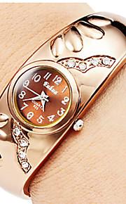 Relógio de Pulso Chinês Quartzo Lega Banda Bracelete Dourada Dourado