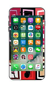 1 pezzo Anti-graffi Geometrica Di plastica trasparente Decalcomanie Fosforescente A fantasia PeriPhone 7 Plus iPhone 7 iPhone 6s Plus/6