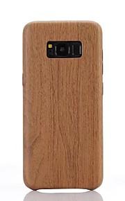 Voor Samsung Galaxy S8 S8 Plus S7 S7 Randomslag Imitatie Houtkorrelpatroon Pu Materiaal Zachte Case Telefoonhouder