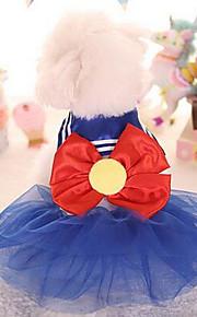 Hunde T-shirt Hundekleidung Niedlich Modisch Prinzessin Purpur Blau Rosa