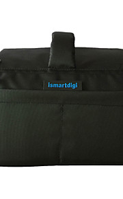 Ismartdigi i-111 Black Universal Camera Bag 26x18.5x14.5 cm for All DSLR DV Cameras Nikon Canon Sony Olympus... - Black