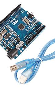 Improved Version UNO R3 ATMEGA328P Board Compatible for Arduino