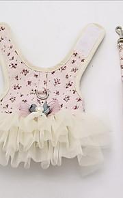 Собака Платья Одежда для собак На каждый день Английский Желтый Синий Розовый