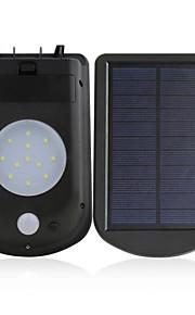 Solar Lights Outdoor Courtyard Landscape Lighting Human Body Infrared Sensor LED Street Lighting Three In One LED Wall Lamp