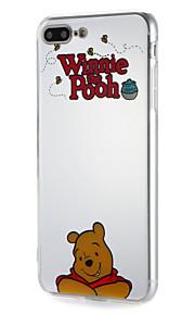 Fall för apple iphone7 7plus mjukt tpu ord / fras tecknad björnmönstret för 6s plus 6 plus 6s 6