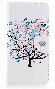 For Huawei P10 Plus P10 Lite Case Cover Card Holder Wallet with Stand Flip Pattern Case Full Body Case Tree Hard PU Leather