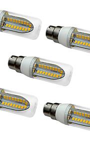 5W LED-kornpærer T 80 SMD 5730 1000 lm Varm hvit Hvit AC 220-240 V
