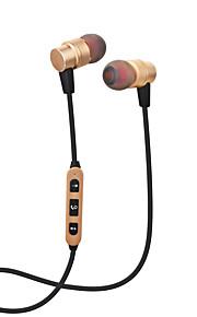 Cwxuan® magnetyczne bezprzewodowe bezprzewodowe sportowe metalowe ucho słuchawkowe / samowyzwalacz