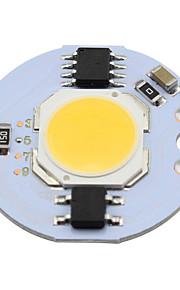 3w cob led chip 280lm na światła punktowe chip na pokładzie żarówki światła oświetlenie ciepłe / zimne białe (1 sztuka)