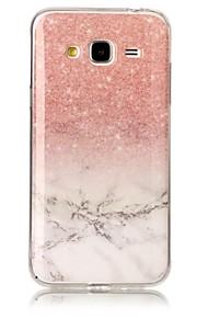 Voor samsung galaxy j3 j5 (2017) case cover marmer high definition patroon tpu materiaal imd technologie zacht pakket mobiele telefoon