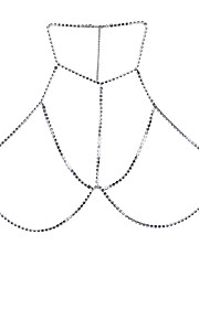 Dame Kropssmykker Krops Kæde / mavekæde Natur Venskab Boheme Stil Hip-hop Klippe Gotisk Movie smykker Sølv Geometrisk form Smykker For