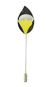 Dame Brocher Enkelt design Unikt design Legering Oval form Blomstformet Smykker For Afslappet
