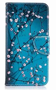 화 웨이 p10 플러스 p10 라이트 케이스 커버 카드 홀더 지갑 스탠드 플립 패턴 케이스 전신 케이스 꽃 하드 pu 가죽