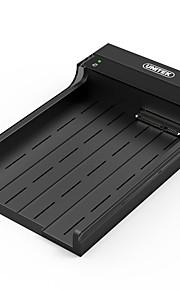 Unitek caixa de hardware móvel usb3.0 2.5 / 3.5 polegadas anfíbio sata3 com poder