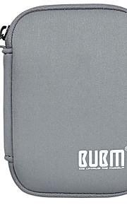 Bolsa para Adaptador de corriente Memoria USB Batería Auriculares Color sólido Lienzos Material