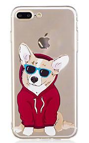 Caso per il iphone 7 plus 7 estate caso del modello di cane di akita modello morbido tpu del telefono per 6s più 6plus 6s 6 se 5s 5