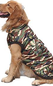 Perro Chaleco Ropa para Perro Casual/Diario Policía/Militar camuflaje de color