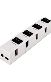 Cqt-h020 Hub usb2.0 480 mbps High-Speed ​​4 Ports mit Schalter