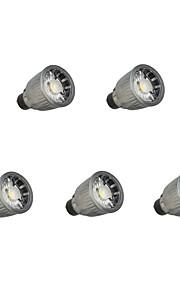 7W LED-spotlampen 1 COB 780 lm Warm wit Koel wit Dimbaar V 5 stuks