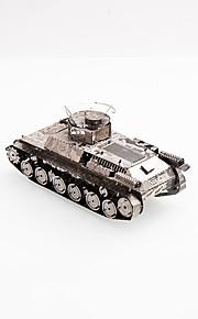 Puzzle Modellini di metallo Costruzioni Giocattoli fai da te Carro armato