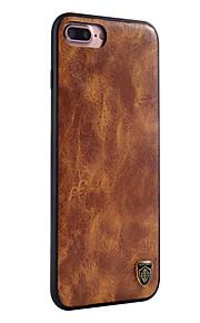 Voor apple iphone 7 plus 7 case cover stofdichte behuizing cover solid color hard pu leer voor apple iphone 6 plus 6s