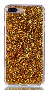 Geval voor apple iphone 7 plus 7 telefoon hoesje acryl verkleurde flash poeder telefoon hoesje 6s plus 6 plus 6s 6 5s 5 se