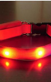 Kaulapannat Kannettava LED-valo Turvallisuus Säädettävä Yhtenäinen Nylon