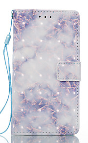For Sony Xperia XA Xperia E5 Case Cover Blue Pattern 3D Painted Card Stent Wallet Phone Case