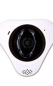 IP Camera Panoramic 360 WIFI Security CCTV Indoor Microphone Memory Card Slot Storage