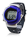 Calorie Counter Pulse Heart Rate Monitor Automatic Watch with Alarm - Blue