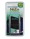 Fast 1.6V 3-5Hrs Power Enix Nizn Charger for 4 x AA Batteries