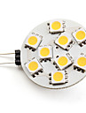 3W G4 LED Spotlight 9 SMD 5050 100 lm Warm White DC 12 V