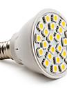 4W E14 LED Spotlight MR16 24 SMD 5050 150 lm Warm White AC 220-240 V
