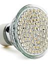 gu10 3.5w 80 LED 400lm 2800-3500k 따뜻한 백색 LED 명소 전구 (220-240V)