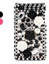 Чехол со стразами для iPhone 4 и 4S (разные цвета)