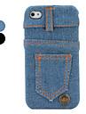 ковбоя брюки разрабатывает жесткий футляр для iphone 4 и 4S (разных цветов)