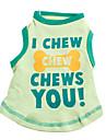 Verano - Verde Algodon - Camiseta - Perros - XS / M / S