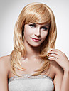 capless longo de alta qualidade sintetica staight peruca cabelo loiro