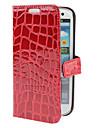 Crocodile Pattern PU Leather Case met standaard voor Samsung Galaxy S3 I9300 (verschillende kleuren)