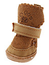 Socks & Boots for Dogs Brown / Pink Winter S / M / L / XL Cotton