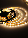 5M 5W 300x3528 SMD Warm White Light Flexible LED Strip Lamp (DC 12V)