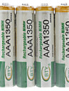 BTY Rechargeable Ni-MH AAA Battery (1350 mAh)