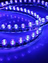 Impermeável 48 centímetros 48-LED azul luz de tira conduzida para o carro (12V)