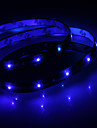 Waterproof 30cm 12-LED Blue LED Strip Light (12V)