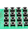 Matriz 4x4 módulo teclado teclado