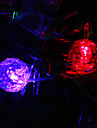 9.5M 20-LED Snowball Shaped Colorful Light String Fairy Lamp for Christmas (220V)
