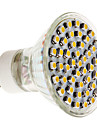 GU10 3W 48 SMD 3528 300 LM Warm White MR16 LED Spotlight AC 220-240 V